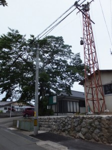 火の見櫓(中村集会所前)