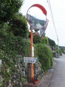 JR滝原駅への道標(右折)