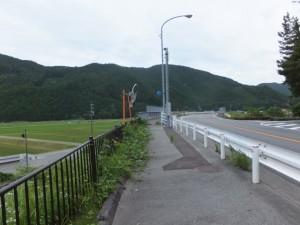 JR紀勢本線を越える国道42号線(藤ヶ野~柏野)