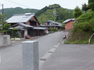 金谷山 寳藏寺付近