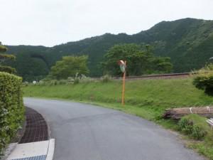 JR紀勢本線沿い(国道42号線柏野交差点から先へ)