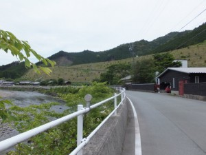 笠木橋~一の谷踏切