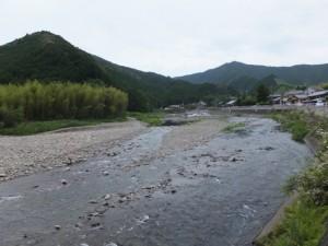 大内山川(笠木橋~一の谷踏切)