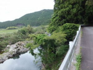 一の谷踏切~坂津橋