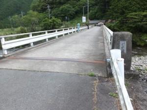坂津橋(大内山川)