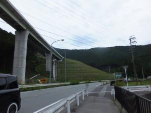 国道42号線からの国昌寺への分岐