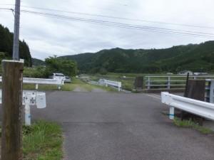 駒ヶ瀬橋(大内山川)付近