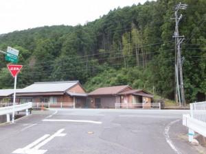 駒ヶ瀬橋(大内山川)から国道42号線へ