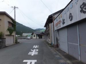 JR紀勢本線 大内山駅への道路