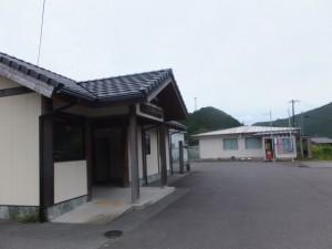 JR紀勢本線 大内山駅付近