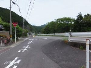 国道42号線との合流