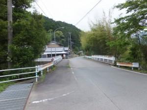 栃古橋(栃古川)付近