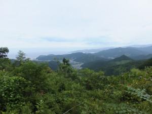 ツヅラト峠からの眺望