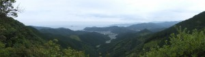 ツヅラト峠の見晴台からの眺望