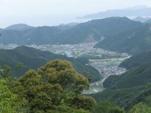 ツヅラト峠からの眺望(ズーム)