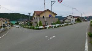 JR紀伊長島駅への分岐(角田橋~国道42号線)