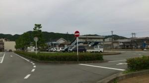 JR紀勢本線 紀伊長島駅前