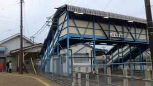 JR紀勢本線 紀伊長島駅の跨線橋
