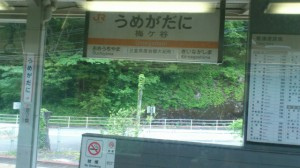 JR紀勢本線 梅ヶ谷駅