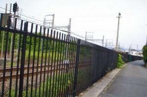 走る近鉄 観光特急「しまかぜ」に出会った場所