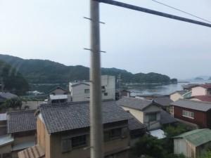 JR紀勢本線にて紀伊長島