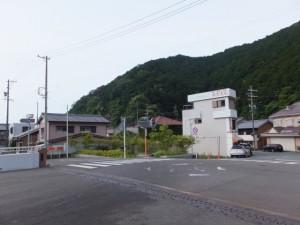 長島橋(赤羽川)の南詰