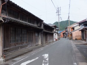 長島神社付近