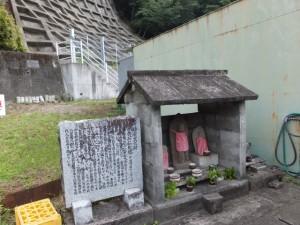 加田石仏道標