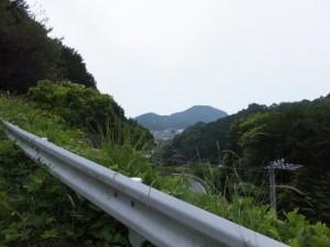 平方峠からの眺望