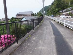 国道42号(古里踏切~古里トンネル)