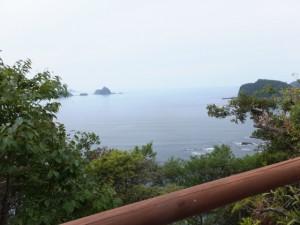 展望台~若宮神社(佐甫道、サボ鼻水平道)