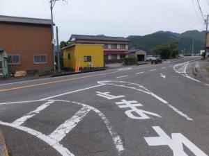 JR紀勢本線 三浦踏切から国道42号線への合流