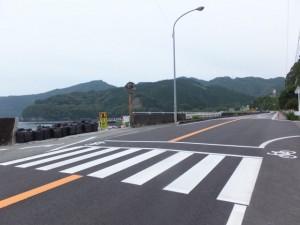 国道42号 大瀬橋付近