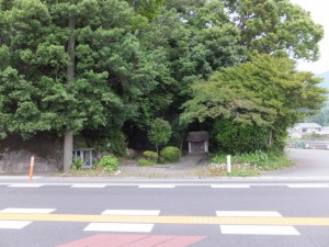 国道42号 大瀬橋付近の祠