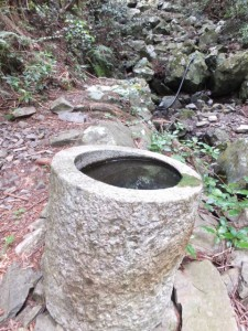 大曲の又谷 手洗い場