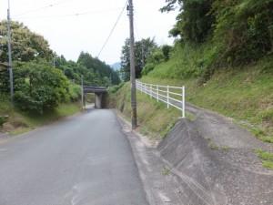 国道42号からJR紀勢本線の高架へ(馬瀬)