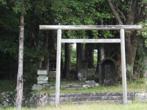 八雲神社、庚申塔?
