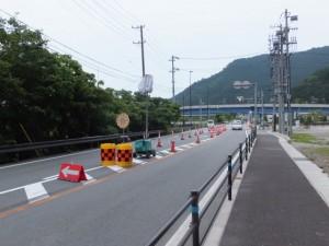 紀勢自動車道 海山IC方向へ(国道42号)