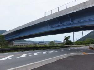 紀勢自動車道 海山ICから国道42号への高架