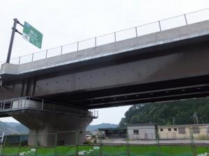 紀勢自動車道(無料区間)の高架
