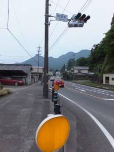 国道42号 相賀北交差点付近