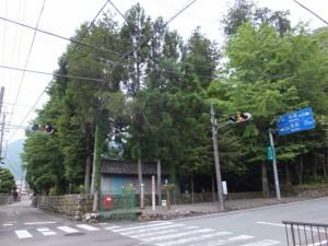 相賀神社付近の道標