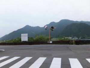 銚子川左岸(銚子橋の下流側)
