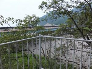 銚子橋(銚子川)付近