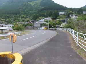 JR紀勢本線 便の山踏切付近