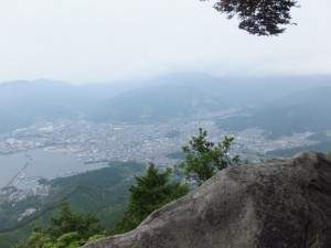 天狗倉山 山頂南側の眺望