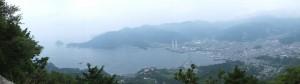天狗倉山 山頂南側のパノラマ