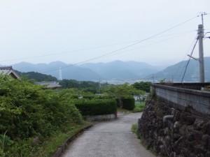 馬越公園から北川橋へ