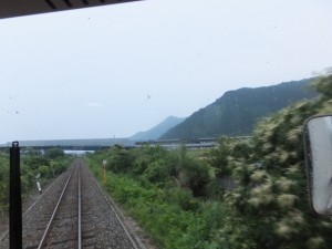 紀勢自動車道 海山IC付近(JR紀勢本線)