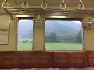 JR紀勢本線 列車から(梅ヶ谷駅~大内山駅)